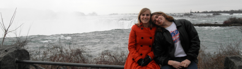 Sarah and Me at Niagra Falls